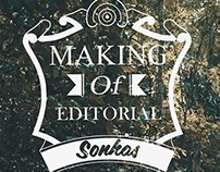 Making Of Editorial: Sonhos