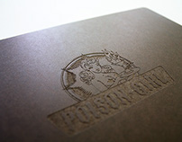 Poison Girl / Little Dipper Menu Books & Templates