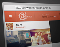 Novo Site Rádio Atlântida