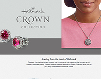 Crown Collection Jewelry page for Hallmark.com