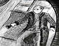 Illustration - Michel entend un bruit H2013