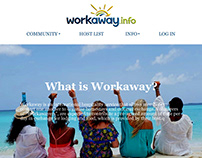 Workaway Presentation Website and App (for iOS)