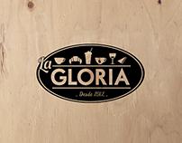 Identidad Cafetería La Gloria