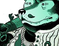 URBAN JUNGLE illustration series