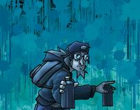 La Troupe #2 Graffiti Comic