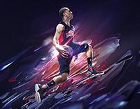 Derrick Rose - Team USA wallpaper for posterizes.com
