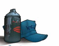 La Troupe-The Begining Graffiti Comic