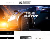 Web Design for M18Performance.com