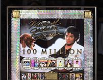 2014 - Michael Jackson - Thriller - 100x Platinum Award