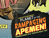 Planet of the Rampaging Apemen!