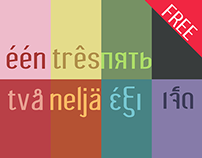 Wagashi, a Strong and Tender Font