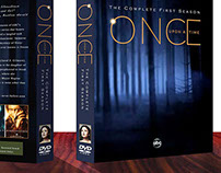Once Upon A Time DVD Cover Design