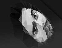 Low Poly Self-portrait
