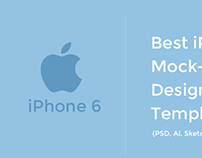 60+ Free iPhone 6 Mockup Templates