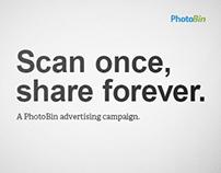 PhotoBin Ad Campaign