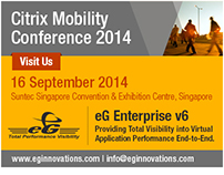 eG Innovations at Citrix Mobility Conference 2014