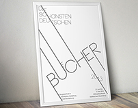 Poster: The most beautiful German books 2013