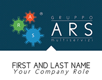 Business card for Gruppo ARS
