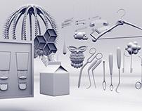 Mixed 3D Models