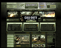 "Call Of Duty ""World At War"" Website - Activision (2010)"