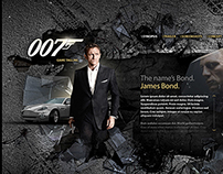 007: James Bond 2010 Website