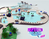 Neptuno Aquatic 3D Map