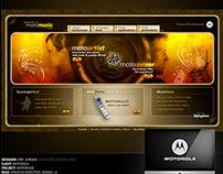 MotoMusic Mobile Sequencer Website - Motorola (2006)