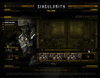Singularity Teaser Website - Activision (2011)