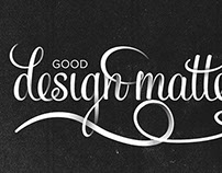 Good Design Matters Typography