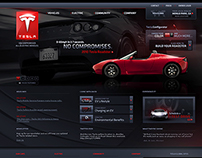 Tesla Website & Car Configurator (2012)