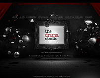 The Drama Studio - Website & Branding (2013)