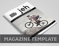 Magazine Template Vol.06