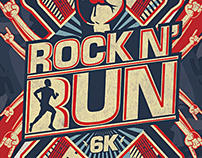 ROCK N' RUN Identity and Materials