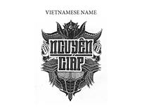 Hand lettering - Vietnamese name