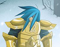 Camus - Collab 13 Cavaleiros de Ouro