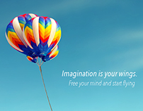 Imagination is your wings