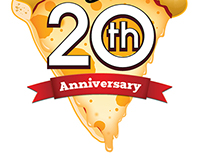 Pizza Hut 20th Anniversary Campaign