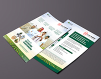 Flyer design for CRI