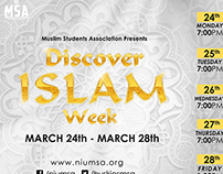Discover Islam Week 2014 - Graphics