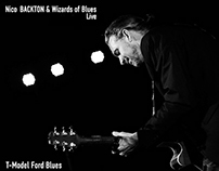 Nico Backton & Wizards of Blues - T-Model Ford Blues