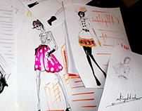 Figures & Random sketching