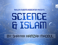 Science and Islam - Event Poster