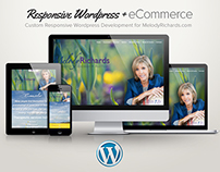 Responsive Wordpress Theme + Paypal integration