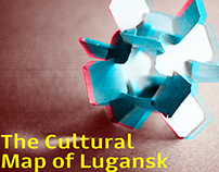 VISUALIZATION CULTURAL MAP  OF LUGANSK