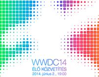 Szifon.com style Apple invitation WWDC'14