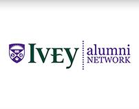 Ivey Alumni Network Logo Design