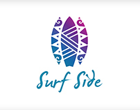 Surf Side Diner Logo Design