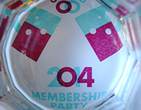 AIGA Indy 2014 Membership Party Invite