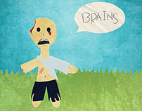 i love you more than a zombie loves brains