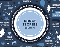 Coldplay's Ghost Stories Poster